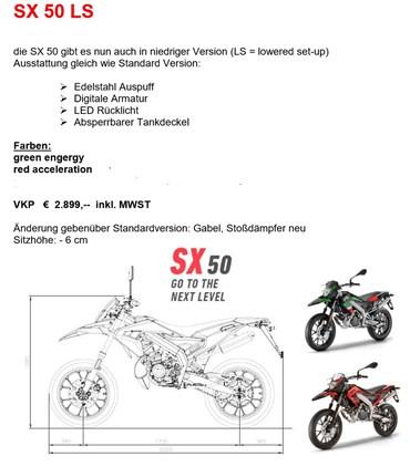 APRILIA SX50 LS