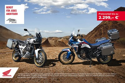 Africa Twin Travel Edition