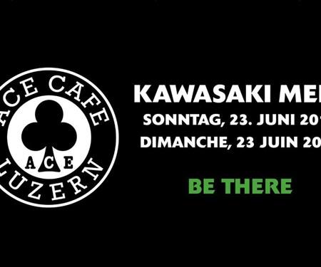 Kawasaki Meet im Ace Cafe Luzern
