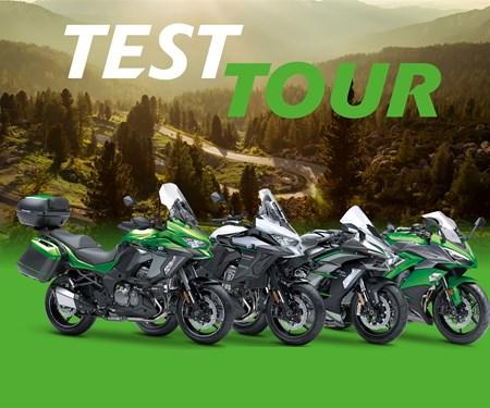 Entdecken Sie die Kawasaki Tourenmodelle