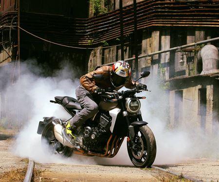 Motorradhaus GEDE Techn.Handel GmbH-News: 4-SR Bekleidung joins Honda GEDE