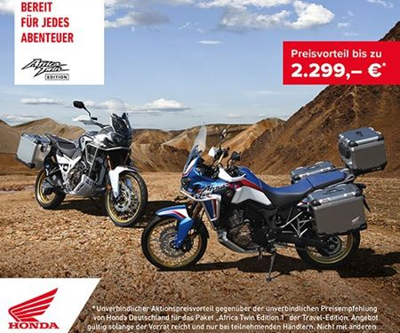 Honda Semmler GbR-News: Honda Semmler - Africa Twin Travel Edition