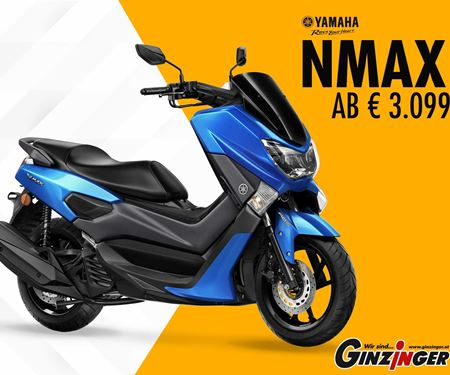 Ginzinger GmbH Salzburg-News: NMAX ab € 3.099,-