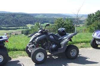 Freie Plätze am 29. Juni für die Quad Tour im Hohenlohe & Mainhardter Wald