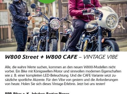 W800 Street + W800 CAFE - VINTAGE VIBE