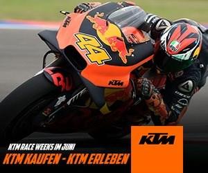 KTM KAUFEN - KTM FAN PACKAGE GESCHENKT!!!!   Mit dem Neukauf einer KTM im Juni sicherst du dir zusätzlich dein persönliches KTM FAN PACKAGE!*  Sei auf der orangenen KTM T... Weiter >>