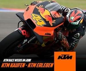 KTM Race Weeks Juni 2019.   Überlegst du noch oder fährst du schon? Zu jedem KTM Motorrad Neukauf gibt es von 3. bis 29. Jun... Weiter >>