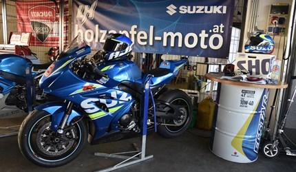 Superbike-Test Slovakiaring