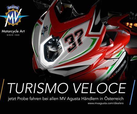 Ginzinger GmbH Villach-News: MV Agusta Turismo Veloce - erlebe die Faszination