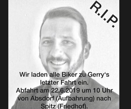 Spocks Motorcycles GmbH-News: Good bye Gerry