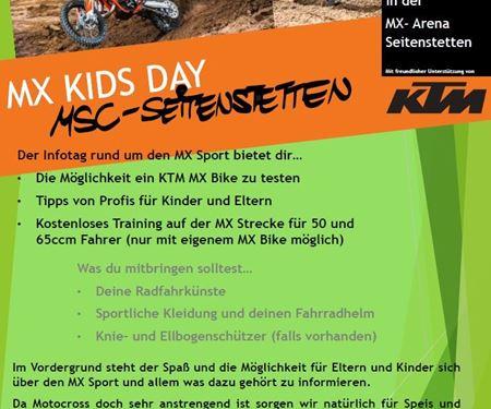 Auner Motorradbekleidung und Zubehör Handels GmbH-News: MX KIDS DAY