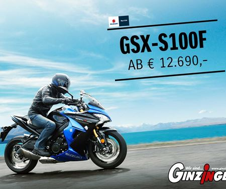 Ginzinger GmbH Salzburg-News: GSX-S1000F in Aktion