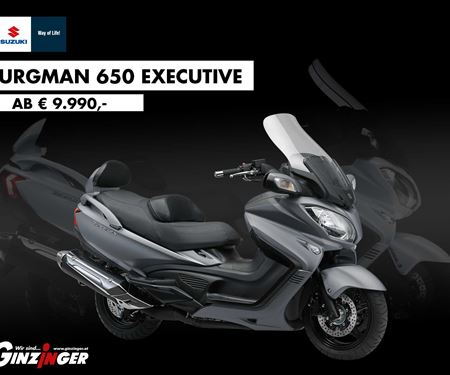 Ginzinger GmbH Innsbruck-News: Burgman 650 Executive