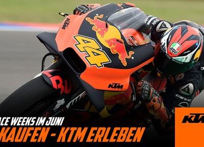 EMG News KTM RACE WEEKS - KTM kaufen/KTM erleben