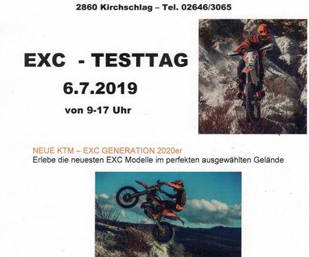 Motorsport Knöbl-News: EXC - TESTTAG