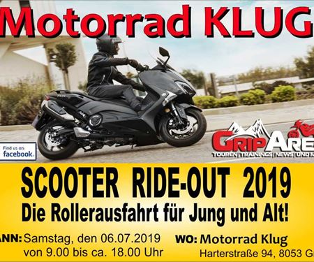 Motorrad Klug GmbH-News: SCOOTER RIDE-OUT 2019