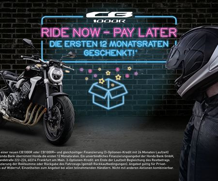 Motorrad Kreiselmeyer GmbH-News: RIDE NOW – PAY LATER