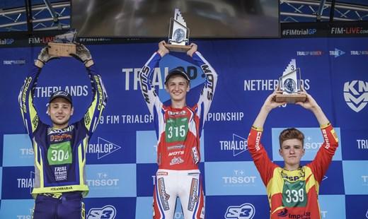 Erster WM Lauf Sieg für Bachner Racing Team Fahrer