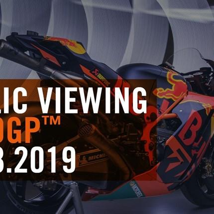 MotoGP™ Public Viewing bei GST Berlin Dreilinden  KTM und GST Berlin laden ein zum Public Viewing!  MotoGP™. Die Spitze des Zweiradmotorsports au... Weiter >>