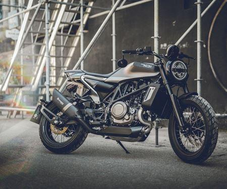 """Motobike Handels GmbH-News: Husqvarna 701 Svartpilen """"STYLE"""" bei Motobike erhältlich!!"""