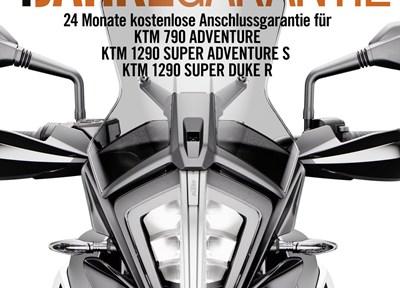 NEWS 4 Jahre Garantie bei KTM