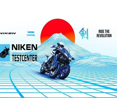 Moto Studio Ulrich Reinecke-News: Yamaha Niken testen