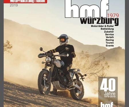 hmf Motorräder GmbH-News: hmf Magazin 2019
