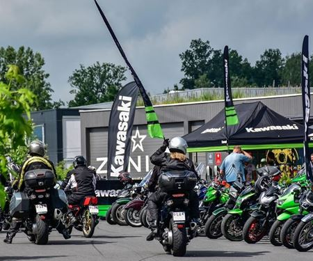 Kawasaki Generalimport Schweiz-News: Das Ace Cafe Luzern wurde grün