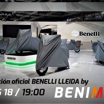 Presentación BENELLI LLEIDA By Benimoto  Este próximo Jueves 18 de julio te invitamos a la presentación de nuestra nueva marca Benelli. Podrás ver toda la gama de la ma... Continuar >>