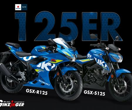 Ginzinger GmbH Traun-News: 125er von Suzuki