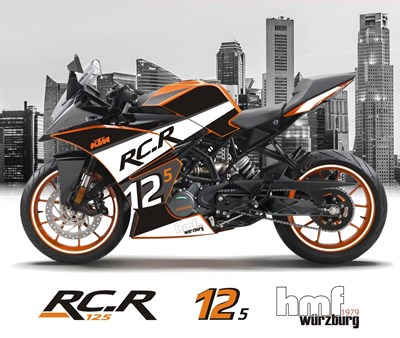 Neues hmf edition-Modell: KTM RC.R 125