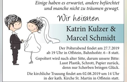 Unser Chef heiratet