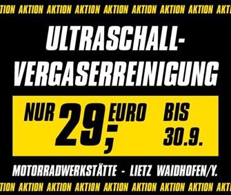NEWS Ultraschall - Vergaserreinigung