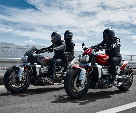 hmf Motorräder GmbH-News: BRANDNEU: ROCKET 3 R & ROCKET GT
