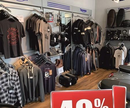 40% auf unser Kleidungssortiment!
