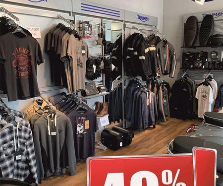 Pat-Bikes-News: 40% auf unser Kleidungssortiment!