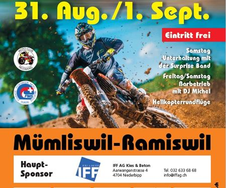 Meister Motorcycle AG-News: Motocross Passwang 2019