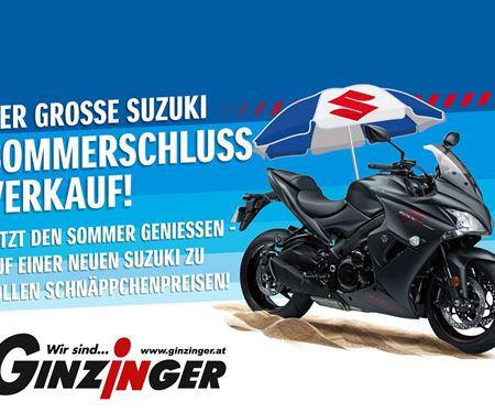 Ginzinger GmbH Villach-News: Suzuki Sommerschluss-Spezial