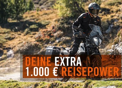 NEWS KTM 790 Adventure EXTRA REISEPOWER AKTION