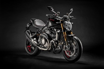 "DUCATI MONSTER 1200 S ""BLACK ON BLACK "" 2020"