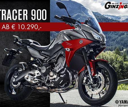 Ginzinger GmbH Salzburg-News: Yamaha Tracer 900 ab € 10.990.-