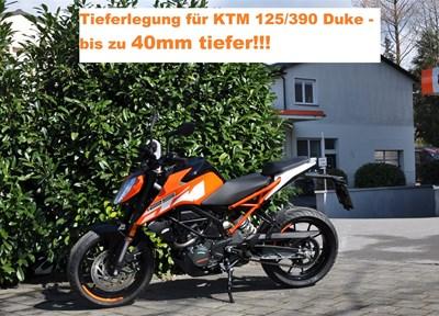 NEWS Tieferlegungskit`s KTM Modelle....