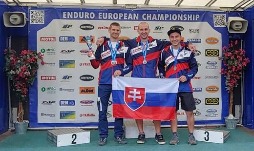 Bachner Teamfahrer 2. in der Europameisterschaft