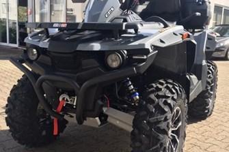 Neue Farbe Hellgrau für Stels ATV