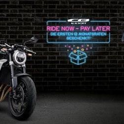 Ride Now Pay Later - Die ersten 12 Monatsraten geschenkt!*