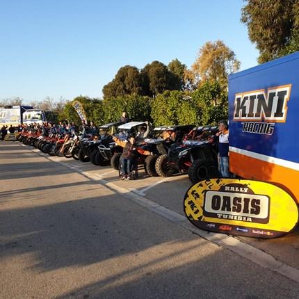 KINI OASIS Rallye 2020  Mittwoch, 25. September 2019 Folge Heinz und Klaus Kinigadner auf den Spuren der Tunesien-Rallye... Weiter >>