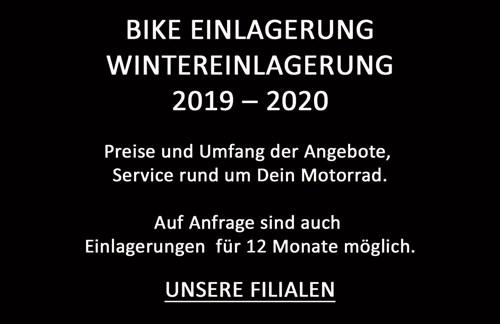 WINTEREINLAGERUNG 2019 / 2020