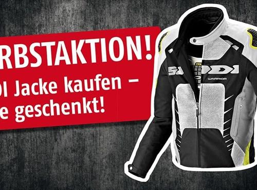 BKM Bikes Herbstaktion SPIDI BÜSE HJC