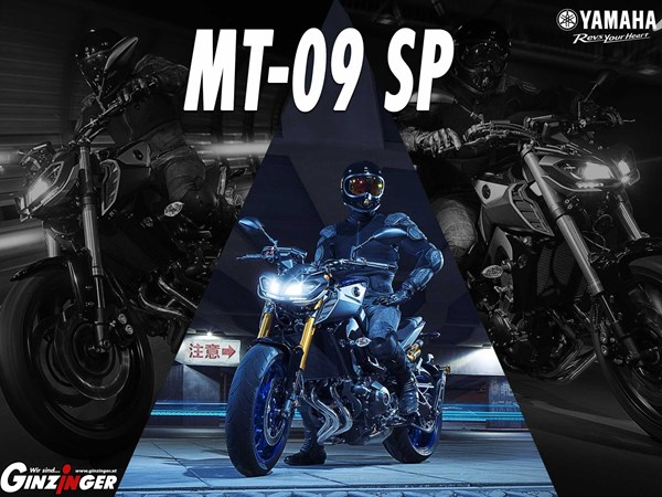 MT-09 SP in Aktion!