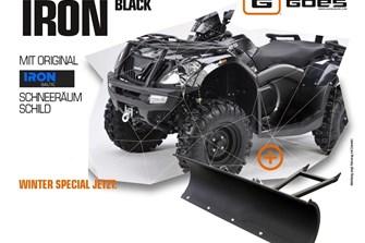 fast 1000,- sparen - ATV Goes Iron Winteraktion mit Schneeschild